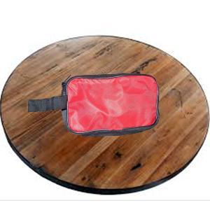 0845 Portable Travel Hand Pouch/Shaving Kit Bag for Multipurpose Use (Red) - DeoDap