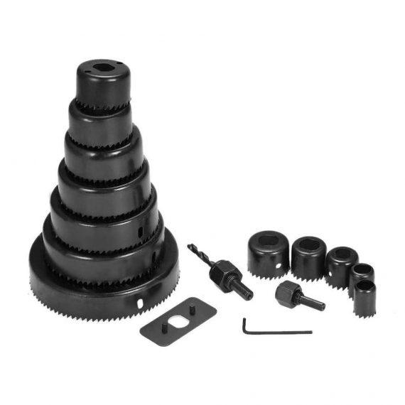 0432 Hole Saw Drill Bit set (16 pcs) - DeoDap