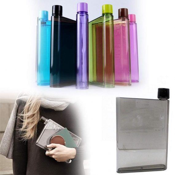 0137 A5 Size Notebook Plastic Bottle (Any olor) - DeoDap