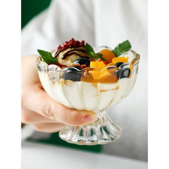 0091_Serving Dessert Bowl Ice Cream Salad Fruit Bowl - 6pcs Serving Dessert Bowl Ice Cream Salad Fruit Bowl - 6pcs - DeoDap