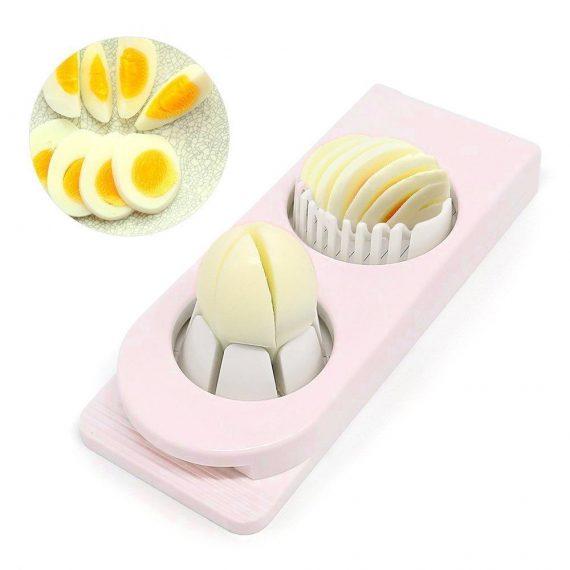 2063 Multi-Segment 2 in 1 Egg Cutter/Slicer - DeoDap