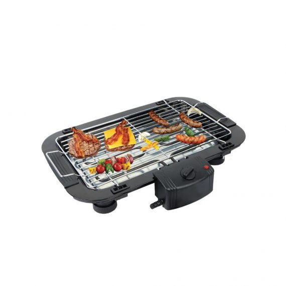082 Smokeless Electric Indoor Barbecue Grill, 2000w - DeoDap
