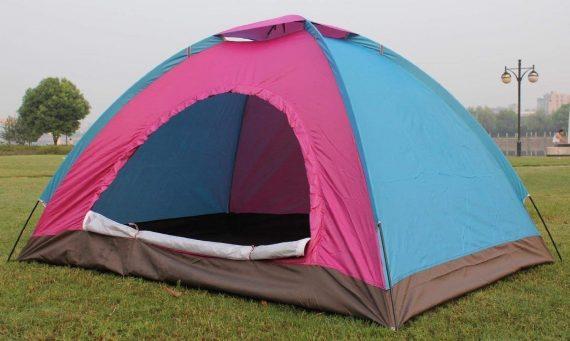 0533 Camping Waterproof Tent (4 Person) - DeoDap