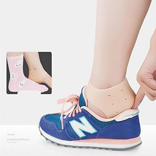 0339 Moisturizing Skin Softening Silicone Gel for Dry Cracked Heel Repair (Multicolour) - DeoDap