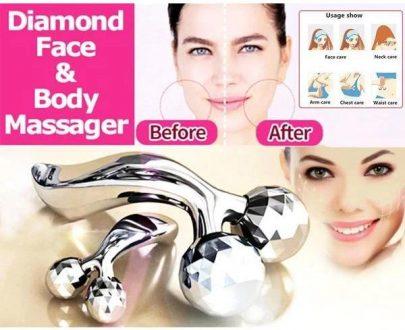 0370 -3D Roller Face Massager - DeoDap