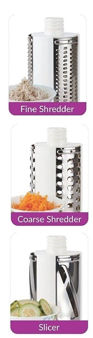 0068 -4 In 1 Vegetable Grater Mandoline Slicer - DeoDap