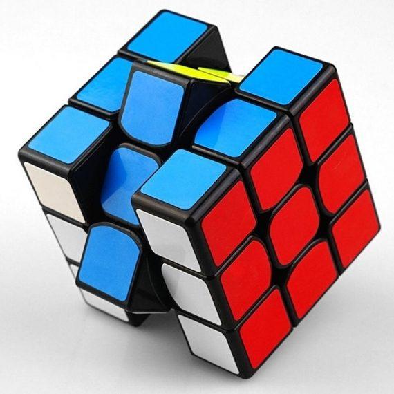 0865 Puzzle Cube 3x3x3 Multicoloured   3D puzzles game   puzzle cubes   - DeoDap