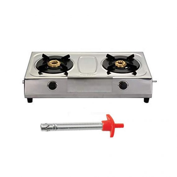 0151 Stainless Steel Electronic Gas Lighter - DeoDap