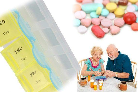 0373 28 Days Medicine Pill Drug Storage Box Case Mini Pillbox Container - DeoDap