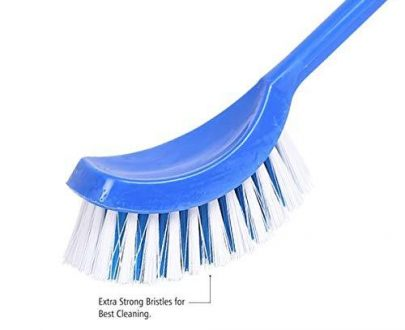 1297 Single Side Bristle Plastic Toilet Cleaning Brush - DeoDap