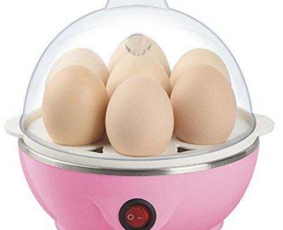 0153 Electric Egg Boiler Poacher Steamer (7 Egg Poacher) - DeoDap