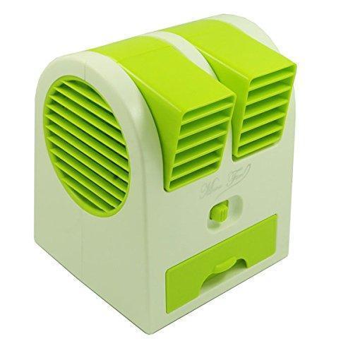 0201  Dual Bladeless Mini Air Conditioner - DeoDap