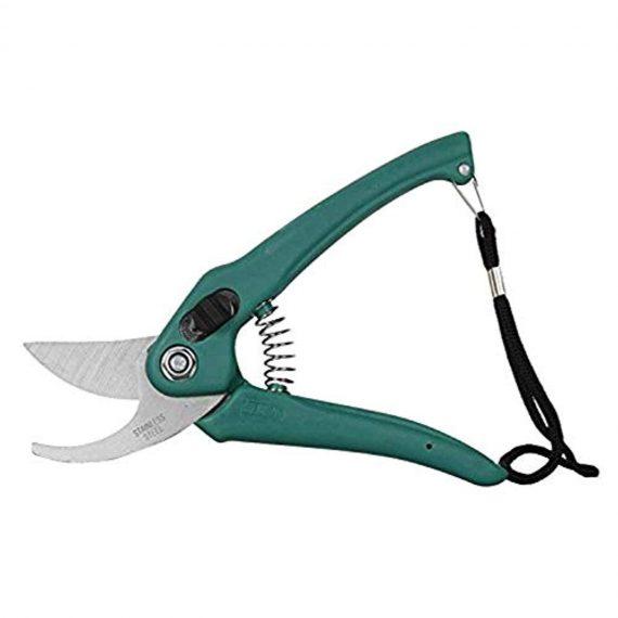 DeoDap Gardening Tools - Flover Cutter & Garden Tool Wooden Handle (3pcs-Hand Cultivator, Small Trowel, Garden Fork) - DeoDap