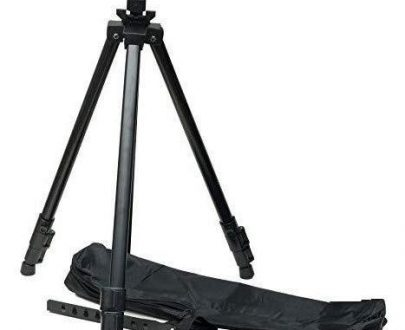 0328  Artists' Portable Lightweight Metal Display Easel  with Free Weatherproof Carry Bag - DeoDap