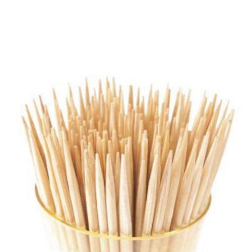 0847 Simple Wooden Toothpicks with Dispenser Box (100 pack) - DeoDap