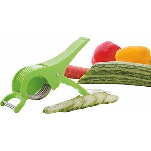 0158 Vegetable Cutter with Peeler - DeoDap