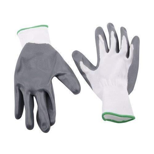 0712 Nylon Safety Hand Gloves -1 pair - DeoDap