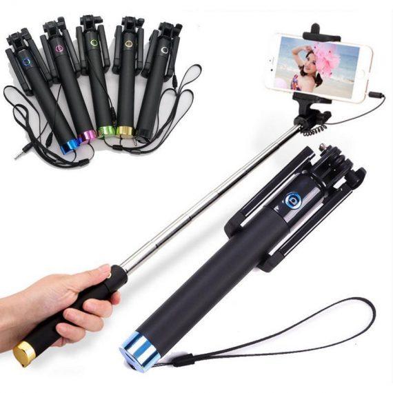 0271 Wireless/Bluetooth Selfie Stick - DeoDap