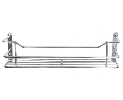 1502 Stainless Steel Perfume Bathroom Kitchen Wall Hanging Storage Rack - DeoDap