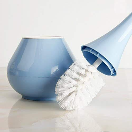 0223 -2 in 1 Plastic Cleaning Brush Toilet Brush with Holder - DeoDap
