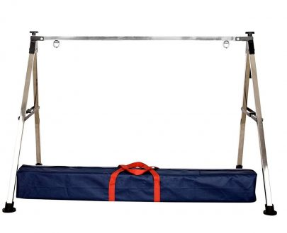0330 Folding Stainless Steel Baby Cradle with Carry Bag - DeoDap