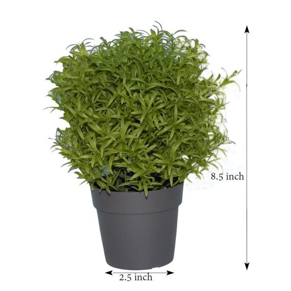 0209 Decoratives -Potted Plastic Artificial Plants - DeoDap