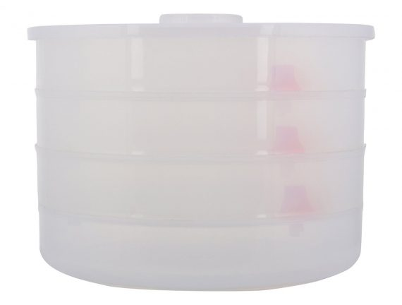 0070 Plastic 4 Compartment Sprout Maker, White - DeoDap