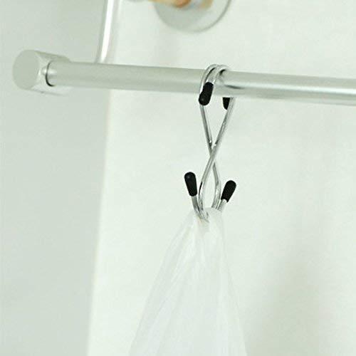 0232 Heavy Duty S-Shaped Stainless Steel Hanging Hooks - 5 pcs - DeoDap
