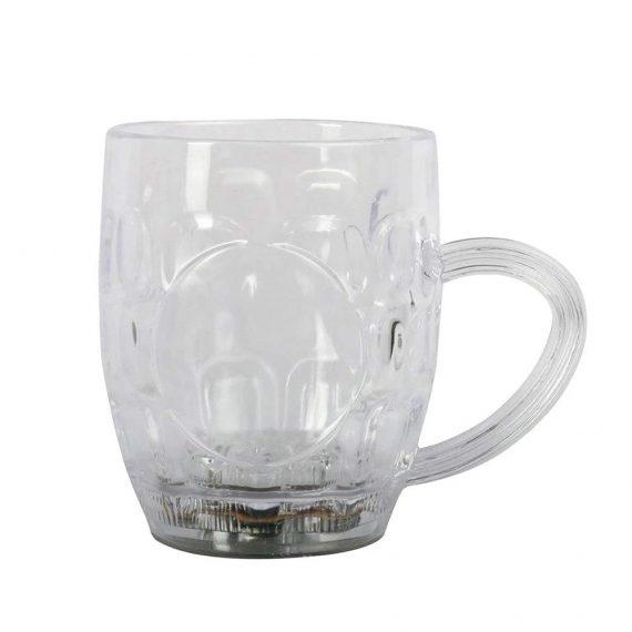0619 Led Glass Cup (Rainbow Color) - DeoDap