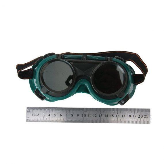 0417 Welding Goggles (Dark Green, Large) - DeoDap