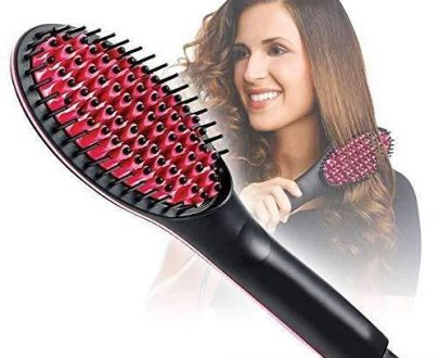 0376 Simply Ceramic Hair Straightener - DeoDap