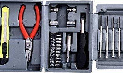 0445 Steel Screw Driver, Cutter and Pliers Set - DeoDap