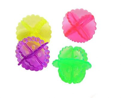 0205 Laundry Washing Ball, Wash Without Detergent (4pcs) - DeoDap