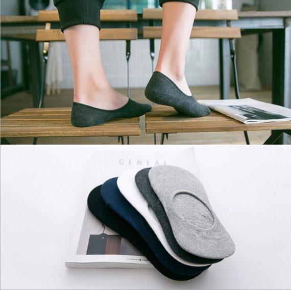 0478 Mens Invisible Socks (12 pcs) - DeoDap