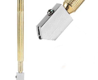 0458 Metal Glass Cutter, Gold - DeoDap