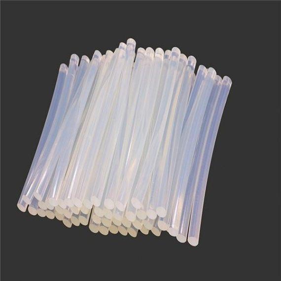 0483 Transparent HOT MELT Glue Sticks for DIY and Craft Work Big 10 mm 8 inch  (Set of 40) - DeoDap