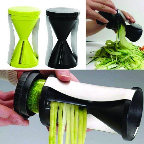 0721 Spiralizer Vegetable Cutter Grater Slicer With Spiral Blades - DeoDap
