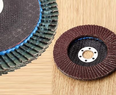 0426 Abrasive Flap Disc Sanding Grinding Wheel, Polishing Wheel Grinding Disc (100 X 16 mm) - DeoDap