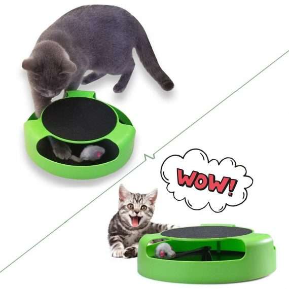 0176 Cat Interactive Toy (Cat Scratching Pad) - DeoDap