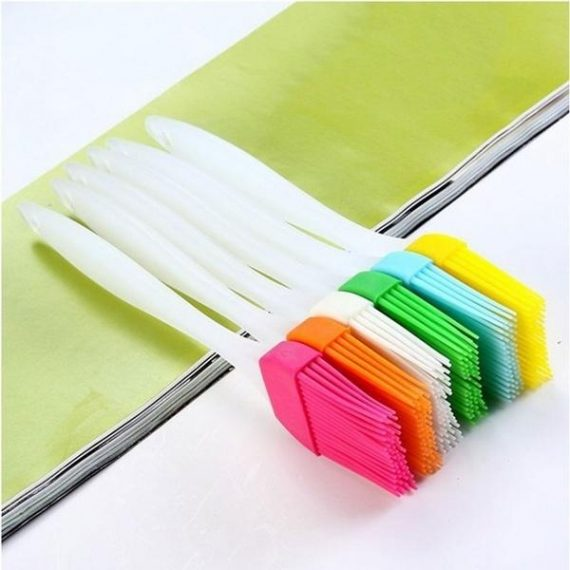 2153 Silicone Spatula and Pastry Brush Special Brush for Kitchen Use - DeoDap