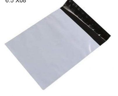 0910 Tamper Proof Courier Bags(6.5X08 PLAIN NO POD M1) - 100 pcs - DeoDap