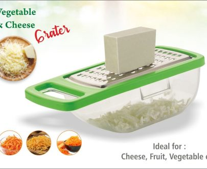 0660  Cheese Grater/Slicer/Chopper With Stainless Steel Blades - DeoDap