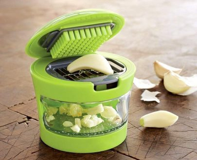 2108 DeoDap Ginger Garlic Crusher for Kitchen - DeoDap
