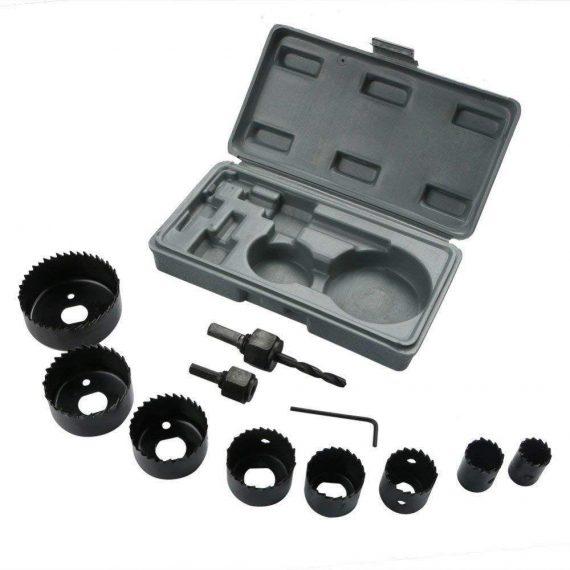 0415 -12 pcs 19-64mm Hole Saw Kit - DeoDap