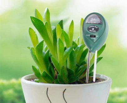 0473 Soil Tester 3-in-1 Plant Moisture Sensor (Green) - DeoDap