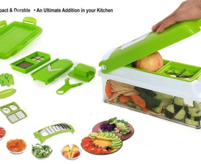 2056 Kitchen Multipurpose 12 in 1 Fruits & Vegetables Chopper Slicer Grater - DeoDap