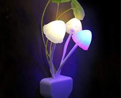 0239 Night Light Mushroom Lamp (Colorful) - DeoDap