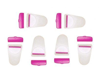 1236 Disposable Body Skin Hair Removal Razor for Women – Pack of 6 - DeoDap