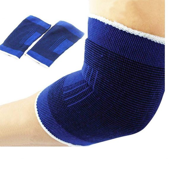 1237 Elbow Support Guard Pain Relief for Gym and Physical Activities 1 Pair - DeoDap