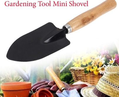 0476 Hand Digging Trowel (Steel, Black) - DeoDap